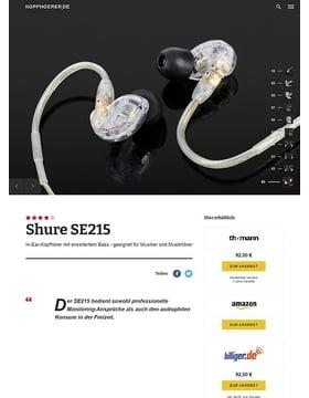 Shure SE215-CL