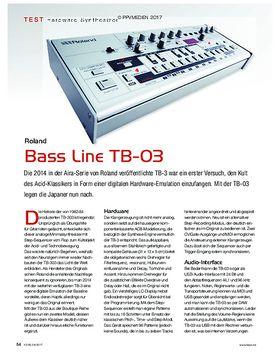 Roland Bass Line TB-03