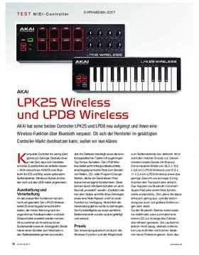 Akai LPK 25 und LPD8