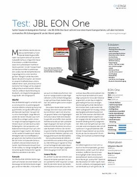 Test: JBL EON One