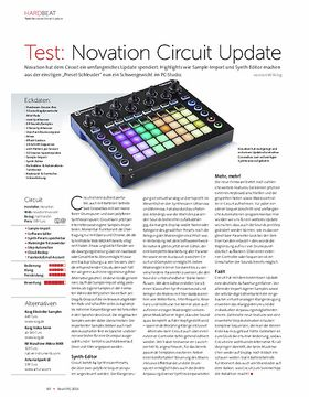 Novation Circuit Update