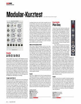 Modular-Kurztest
