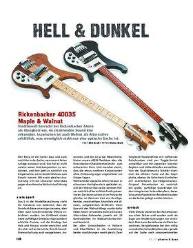 Rickenbacker 4003S Maple & Walnut