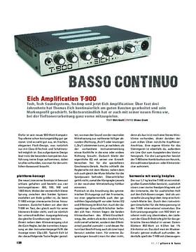 Eich Amplification T-900