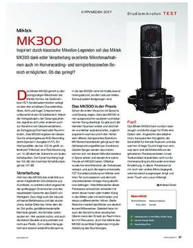 Miktek MK300