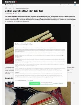 Zildjian Artist & Gauge Drumstick Neuheiten 2017