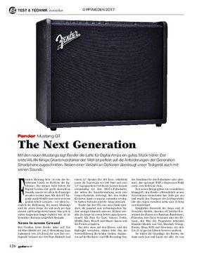 Fender Mustang GT
