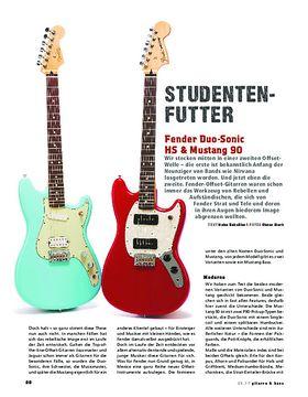 Fender Duo-Sonic HS & Mustang 90