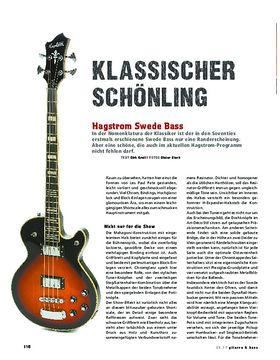 Hagstrom Swede Bass