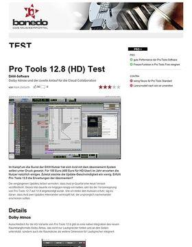 Pro Tools 12.8 (HD)