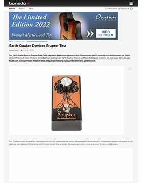 Earth Quaker Devices Erupter