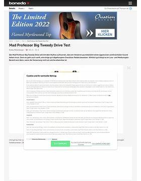 Mad Professor Big Tweedy Drive