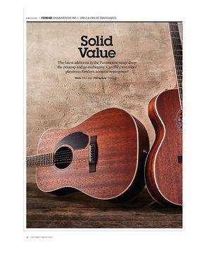 Fender PM-2 Standard Parlor All-Mahogany NE