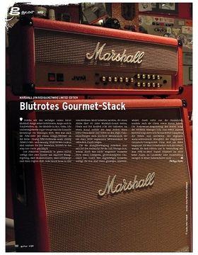 gear Amp - Marshall JVM Red Basketwave Limited Edition