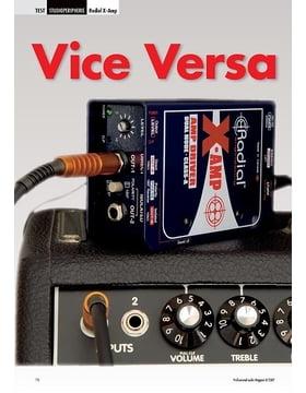 Vice Versa: Radial X-Amp