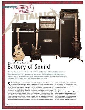 Maximum Check: Gitarrenbrett à la Metallica – Battery of Sound