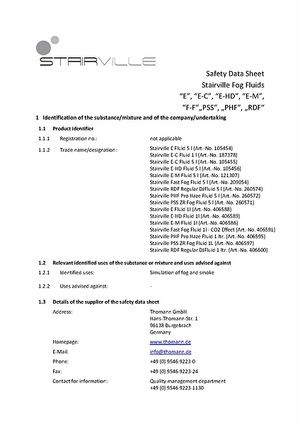 Safety data sheet