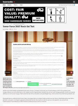 Bonedo.de Sonor Force 3007