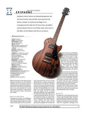 Gitarre & Bass Epiphone Les Paul Studio