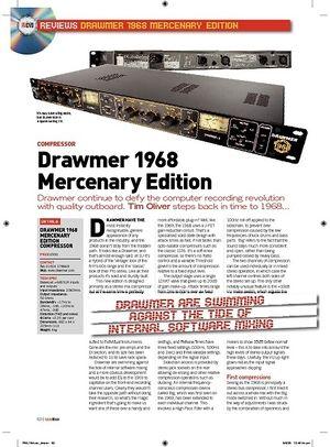 Future Music Drawmer 1968 Mercenary Edition