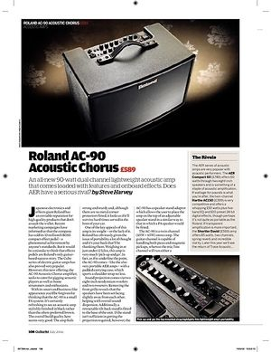 Guitarist Roland AC 90