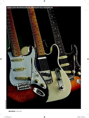 Guitarist Squier Classic Vibe Stratocaster 60s