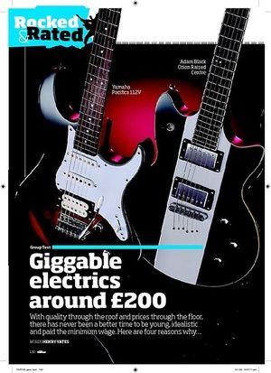 Total Guitar Yamaha Pacifica 112V