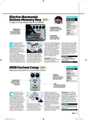 Total Guitar ElectroHarmonix Deluxe Memory Boy
