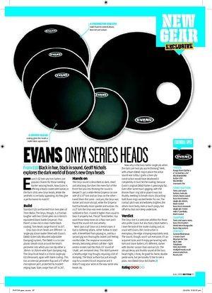 Rhythm EVANS ONYX SERIES HEADS