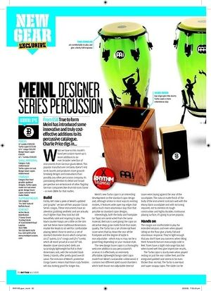 Rhythm MEINL DESIGNER  SERIES PERCUSSION