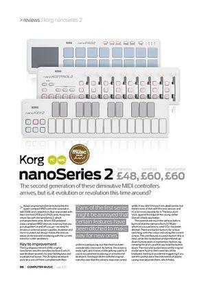 Computer Music Korg nanoKontrol Series 2