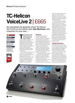Future Music TC-Helicon VoiceLive 2