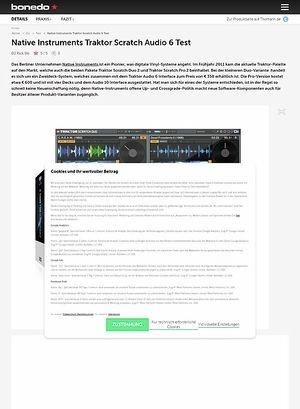 Bonedo.de Native Instruments Traktor Scratch Duo 2/ Audio 6