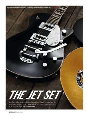 Guitarist Gretsch G5435T Pro Jet