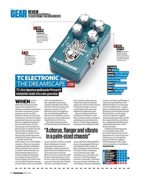 Total Guitar TC ELECTRONIC THE DREAMSCAPE