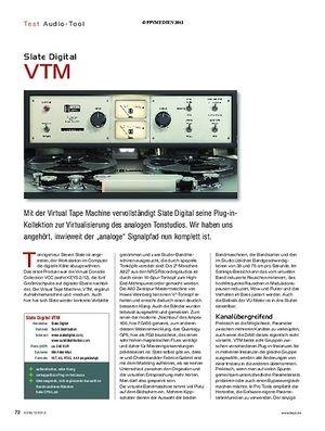 KEYS Slate Digital VTM