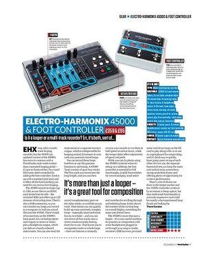 Total Guitar Electro-Harmonix 45000 & Foot Controller
