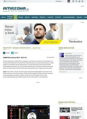 Amazona.de Report: NAMM Show 2014 - DJ & VJ