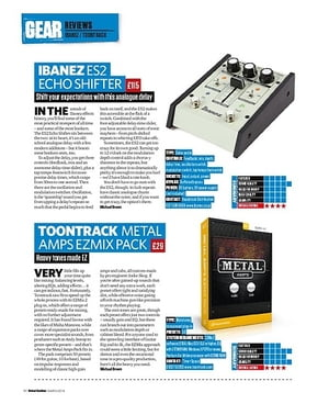 Total Guitar Ibanez ES2 Echo Shifter