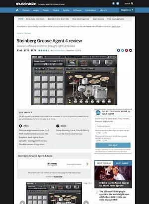 MusicRadar.com Steinberg Groove Agent 4