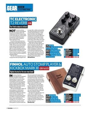 Total Guitar Finhol Kickbox Mark III