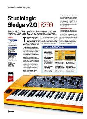 Future Music Studiologic Sledge v2.0