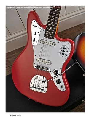 Guitarist Fender 60s Jaguar Lacquer & Road Worn 60s Jazzmaster
