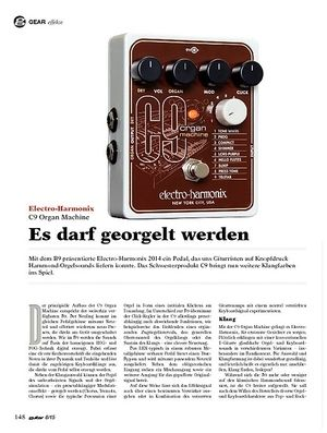 Guitar Electro-Harmonix C9 Organ Machine