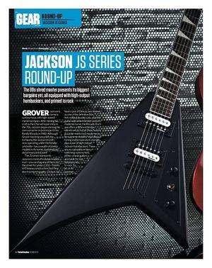 Total Guitar Jackson JS32Q dinky Arch Top