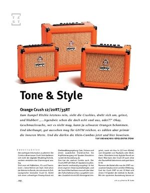 Gitarre & Bass Orange Crush 12/20RT/35RT, Gitarren-Combos