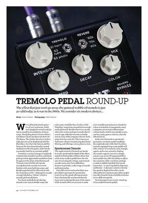 Guitarist Tremolo Pedal Round Up