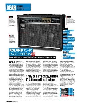Total Guitar Roland JC-40 Jazz Chorus