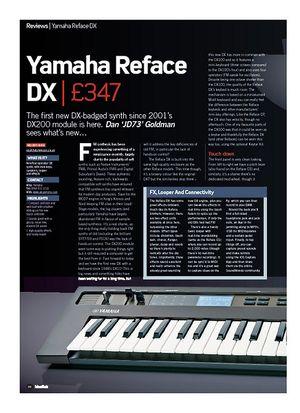 Future Music Yamaha Reface DX