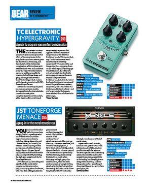 Total Guitar TC Electronic Hypergravity